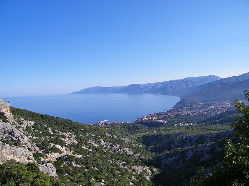 Vista Cala Gonone da Littu - Foto: Maria Garofano