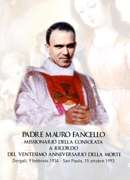 Padre Mauro Fancello - XX anniversario della morte