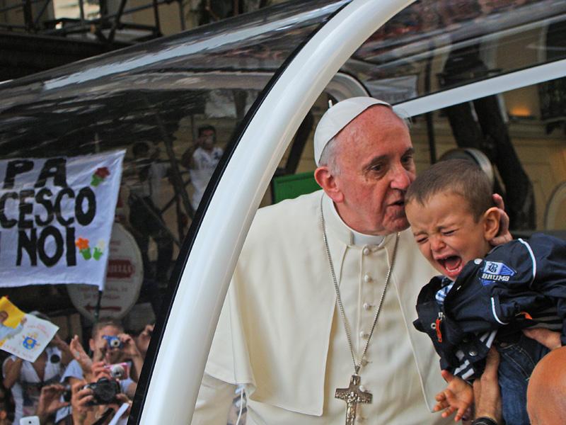 Papa Francesco rimarrà nel nostro cuore tra le cose ...