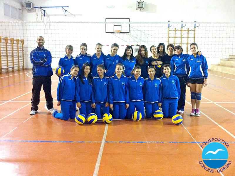 Squadra 1^ Divisione Femminile - Pol. Gonone Dorgali
