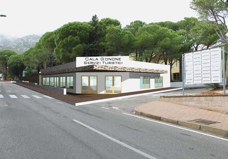 Cala Gonone - Viale Colombo - simulazione d'intervento