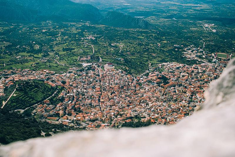 7 aprile 2015, Dorgali dal Monte Bardia - Foto: Davide Fancello