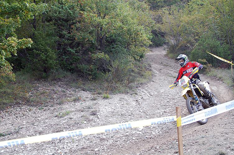 Claudio Spanu - Campionato Italiano Enduro Under 23 - Sant'Angelo in Vado, 27 settembre 2015