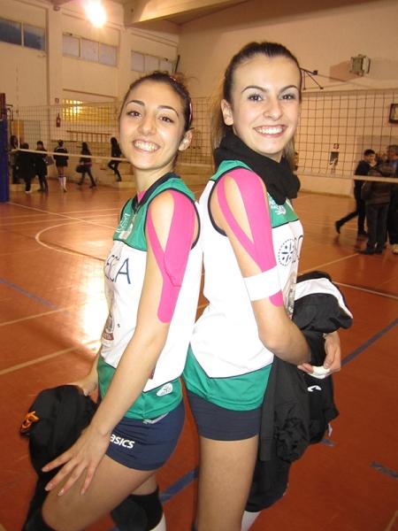 Club Volley Dorgali - Cristina Masuri e Martina Sotgia