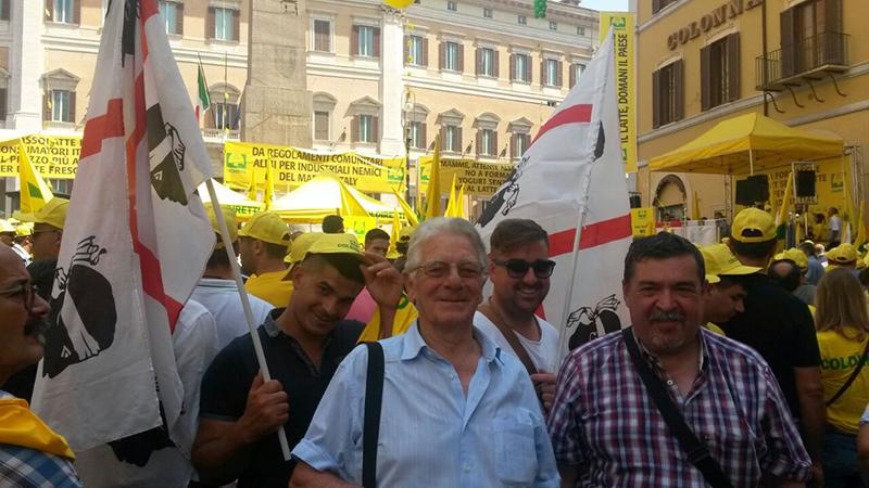 Roma, 8 luglio 2015 - Foto: Coldiretti Sardegna