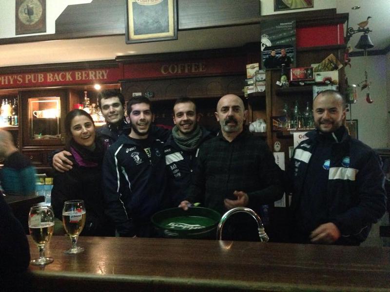 Pol. Gonone Dorgali al Pub Back Berry - 28 febbraio 2015