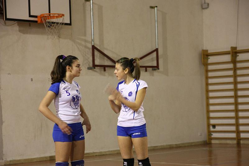 Polisportiva Gonone Dorgali - Da destra: Serra e Cossu