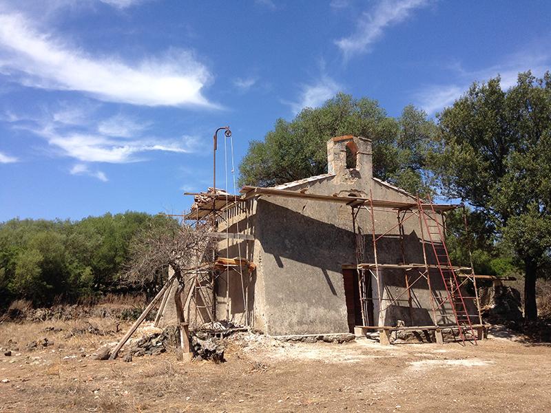 Chiesa de Sos Anzelos, 26 luglio 2015 - Foto: Chiara Bacchitta