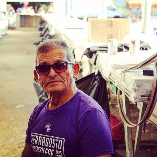 Agostino Sale, agosto 2015 - Foto: Antonella Fancello