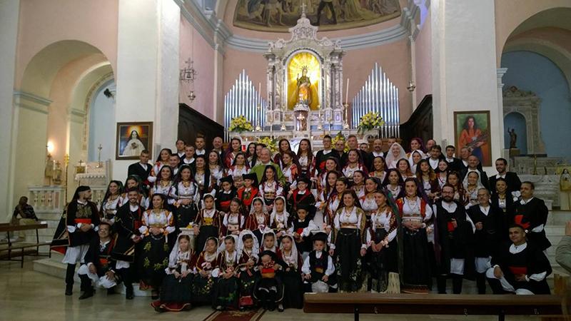 Dorgali, 30 ottobre 2016 - Gruppo Folk Don Milani