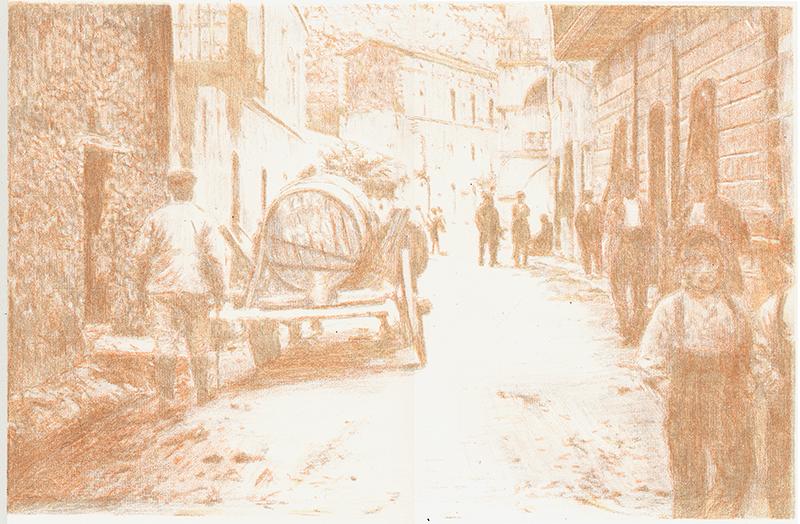 Litografia 2007 - Autore: Chiara Bacchitta