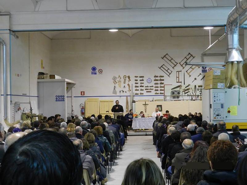 La Parrocchia Santa Caterina incontra il mondo del lavoro a Iriai - Quaresima 2015
