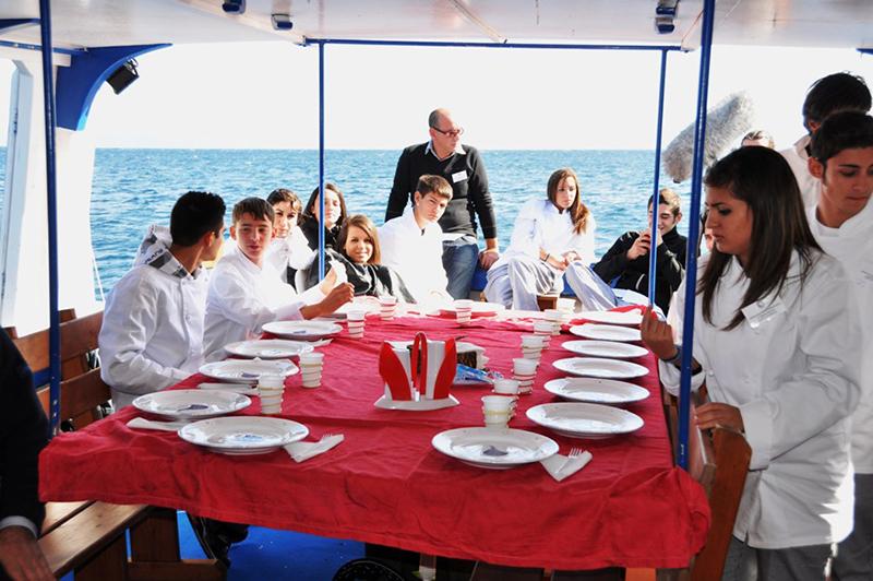 Pescatour con le scuole - Foto: GAC Sardegna Orientale